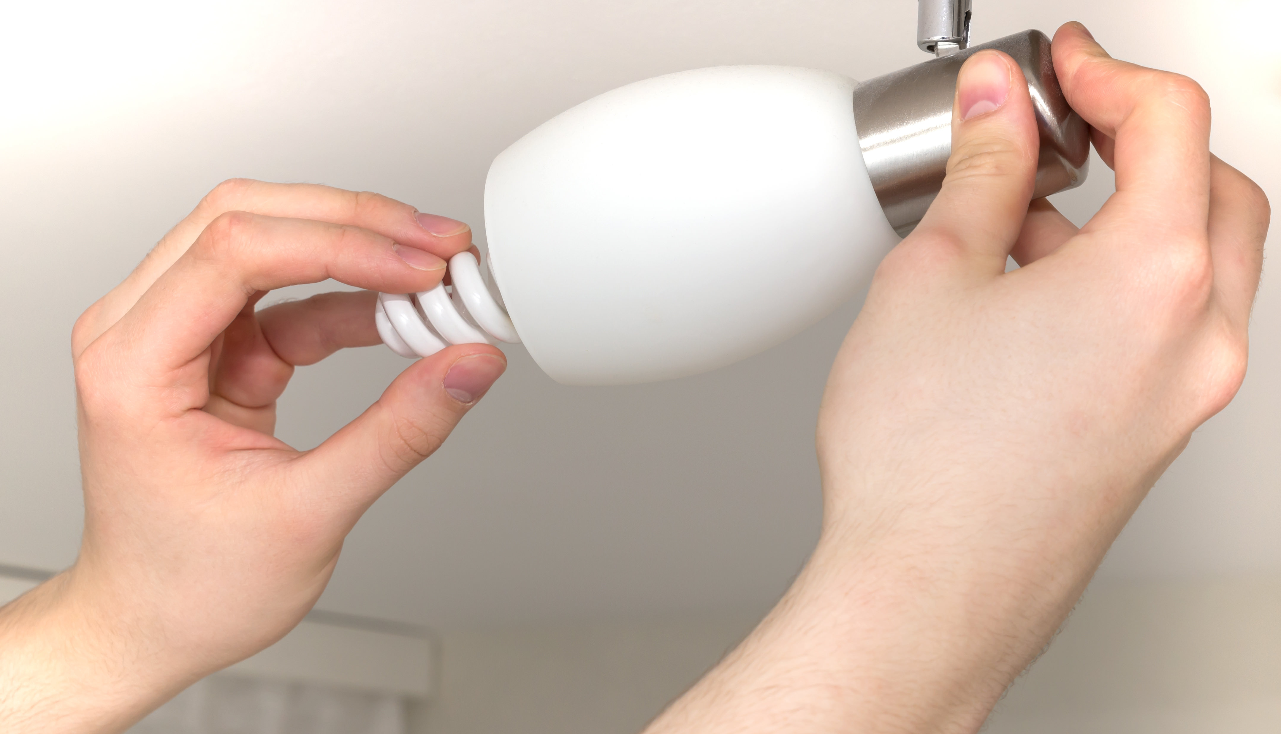 update interior lighting by replacing dim or broken light bulbs